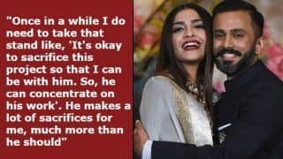 Sonam Kapoor Talks About How Husband Anand Ahuja Sacrifices For Her And Their Relationship