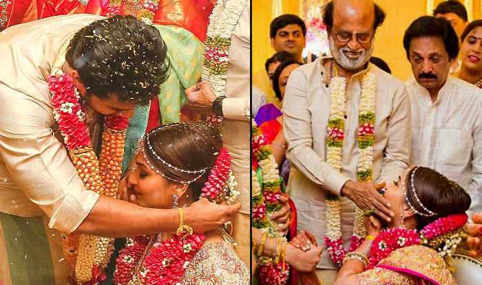Rajinikanth Can't Stop Dancing As Daughter Soundarya Weds Actor Vishagan Vanangamudi