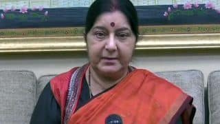 Sushma Swaraj to Visit Kyrgyzstan on Tuesday For SCO Meet