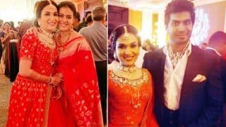 Soundarya Rajinikanth And Vishagan Vanangamudi Look Like a Match Made in Heaven at Their Wedding Reception