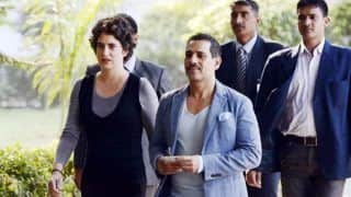 Priyanka Gandhi Drops Off Robert Vadra at ED Office For Questioning in PMLA Case Probe, Says World Knows What's Happening