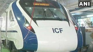 Vande Bharat Express' Windows, Main Driver's Screen Damaged After Being Hit by Flying Ballast