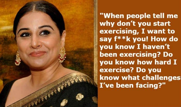 Vidya Balan's Statements on Body Shaming, Hormonal Issues, And Fight For Acceptance Are Important