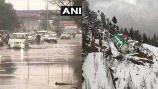 दिल्ली में कहीं- कहीं हल्की बारिश, यूपी में भारी वर्षा की चेतावनी, पहाड़ों में हैवी स्नोफॉल