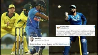 5th ODI: Rishabh Pant Gets Trolled After Poor Show in Feroz Shah Kotla Decider Against Australia, Fans Feels he Does Not Deserve World Cup Spot | SEE POSTS