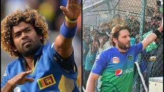 South Africa vs Sri Lanka 2019 T20Is: Lasith Malinga in Cusp of World Record, Needs 3 Wickets to Surpass Shahid Afridi to Top The All-Time List in Men's T20I Cricket