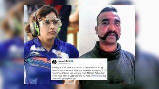 Shikhar Dhawan, Harbhajan Singh, Heena Sidhu, Vinod Kambli Elated as Wing Commander Abhinandan Varthaman Set to be Released | SEE POSTS