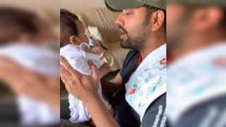 Rohit Sharma Dances With Baby Girl Samaira on Popular Gullyboy Track Ahead of Team Mumbai's Opening T20 League Game | WATCH VIDEO