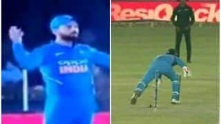Virat Kohli Angry After Rishabh Pant Concedes Single Attempting a MS Dhoni-Like Stumping During 4th ODI | WATCH VIDEO
