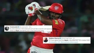 IPL 2019: KXIP's Chris Gayle Becomes Fastest to 4000 Runs, Twitter Hail Universe Boss | SEE POSTS