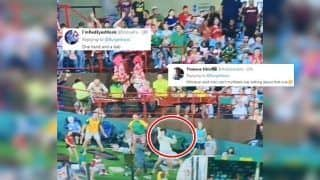 South Africa vs Sri Lanka, 2nd T20I: Fan Takes a One-Handed Catch at Centurion, Sets Twitter on Fire | SEE POSTS