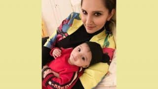 Sania Mirza Shares an Adorable Picture With Her Baby Izhaan, Mother-Son Twin in Gucci Outfits