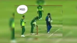 2nd ODI: Faf du Plessis Calls David Miller 'MS Dhoni' During Live Match Against Sri Lanka at Centurion | WATCH VIDEO