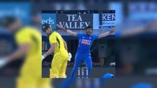 4th ODI: After Last-Ball Six, Jasprit Bumrah Clean Bowls Shaun Marsh With a Ripping Yorker at Mohali | WATCH VIDEO