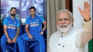 PM Narendra Modi Requests MS Dhoni, Virat Kohli, Rohit Sharma to Inspire Voters Ahead of 2019 General Elections | SEE POST