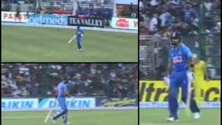 5th ODI: Virat Kohli Gets Rousing Reception as he Walks Out to Bat Against Australia in Decider at Feroz Shah Kotla | WATCH VIDEO