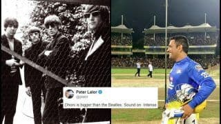 'MS Dhoni is Bigger Than Beatles': Australian Journalist Reacts After Thala Receives Crazy Fan Following at CSK Ahead of IPL 2019  | SEE POST