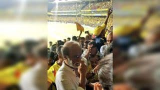Not Just MS Dhoni, Rajinikanth Gets a Thalaivar Welcome at Chepauk During Indian T20 League Opener | WATCH VIDEO