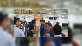 MS Dhoni Arrives in Ranchi For 3rd ODI, Gets Rousing Reception | WATCH VIDEO