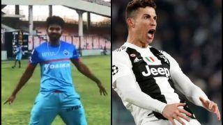 Shreyas Iyer Emulates Juventus' Cristiano Ronado Celebration in Delhi Camp Ahead of IPL 2019 | WATCH VIDEO