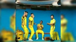 MS Dhoni, Murali Vijay, Kedar Jadhav, Harbhajan Singh Have Fun Dancing, Singing During CSK Shoot Ahead of IPL 2019 | WATCH VIDEO