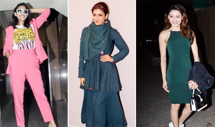 Don't Miss Sonam Kapoor, Raveena Tandon And Urvashi Rautela's Airport Looks