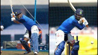 3rd ODI India vs Australia: MS Dhoni, Rishabh Pant Smash Ball During Net Practice at Ranchi | SEE PICS