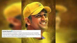 Chennai Super Kings' Murali Vijay, Ambati Rayudu, Mohit Sharma Laud MS Dhoni's 'Roar of The Lion' Documentary Ahead of IPL 2019    SEE POSTS