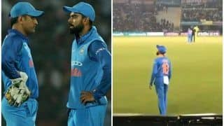 4th ODI: Fans in Mohali Urge Virat Kohli to Bring Back MS Dhoni | WATCH VIDEO