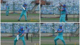 IPL 2019: Sourav Ganguly Does Some Batting, Turns Back Clock ahead of DC vs KKR | WATCH VIDEO