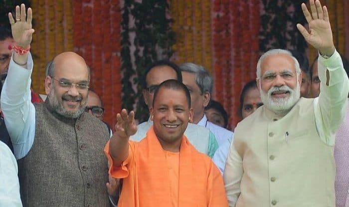 LS Polls: PM Modi to Interact With 'Main Bhi Chowkidar' Supporters; Shah, Adityanath to Hold Rallies in UP Today