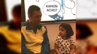 MS Dhoni's Conversation With Daughter Ziva in Multiple Indian Languages is Pure Gold | WATCH VIDEO
