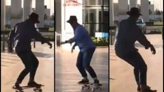 Matthew Hayden Shows Cool Moves on Skateboard Ahead of 4th ODI at Mohali | WATCH VIDEO