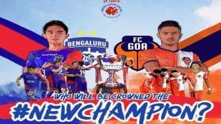 ISL Final, Bengaluru FC Vs FC Goa Free Online Football Live Streaming: When And Where to Watch