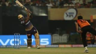 Indian T20 League Match 2 Report Eden Gardens: Andre Russell, Nitish Rana Overshadow David Warner's Comeback as Kolkata Beat Hyderabad by 6 Wickets