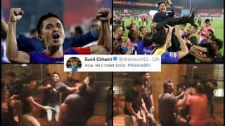 ISL 2019: How Sunil Chhetri-Led Bengaluru FC Celebrated Maiden Title After Defeating FC Goa | WATCH VIDEO