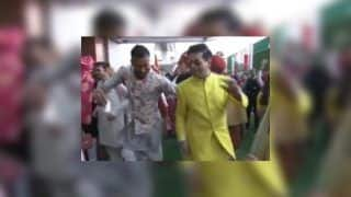 Hardik Pandya-Karan Johar Dance at Akash Ambani-Shloka Mehta's Wedding Post Koffee With Karan Row | WATCH VIDEO