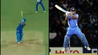 Rishabh Pant Does an MS Dhoni, Plays Signature 'Helicopter' Shot of Jasprit Bumrah to Perfection at Wankhede | WATCH VIDEO