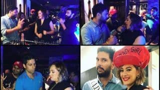 Yuvraj Singh, Harbhajan Singh, Zaheer Khan, Ashish Nehra Have a Blast at Hazel Keech's Birthday Celebrations | SEE PICS AND WATCH VIDEO