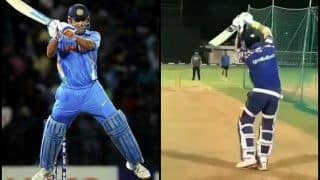 Yuvraj Singh Imitates MS Dhoni Ahead of IPL 2019, Plays Helicopter Shot During Mumbai Indians' Net Session | WATCH VIDEO