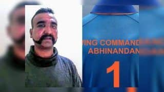 BCCI Releases Special India Jersey to Welcome IAF Pilot Abhinandan Varthaman's Return to India Ahead of 1st ODI   SEE PIC