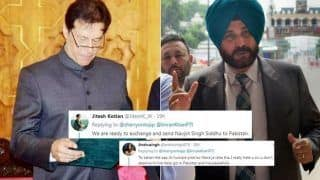 Navjot Singh Sidhu Hails Pakistan PM Imran Khan After he Announces Release of IAF Pilot Abhinandan Varthaman, Gets TROLLED Brutally | SEE POSTS