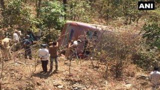 Death Toll Rises to Six; 45 Others Injured in Bus Accident in Palghar District of Maharashtra
