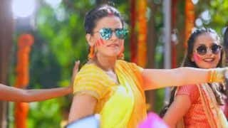 Bhojpuri Hot Bomb Akshara Singh's New Holi Song 'Sakhi Ke Marda Udawlas Garda' is All About Her Swag, Video Clocks Over 2 Lakh Views