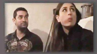 आमिर और करीना ने किसान के घर में जमीन पर बैठकर किया लंच, वीडियो वायरल