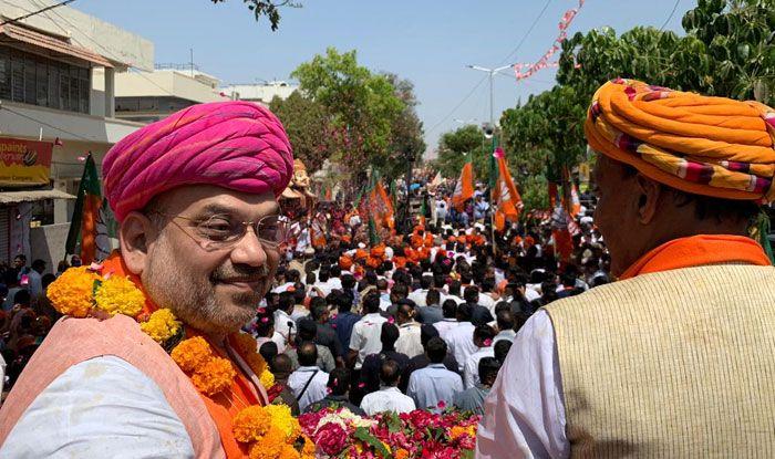 Gandhinagar: Amit Shah Files Nomination, Promises to Pursue LK Advani's Legacy