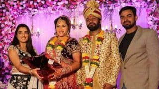 Bhojpuri Hot Dancer Seema Singh Tied The Knot With Beau Saurav Kumar, Amrapali Dubey Attends The Wedding Along With Parvesh Lal Yadav