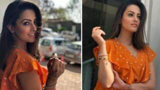 Television Hottie Anita Hassanandani Looks Sexy in Orange Dress And Short Hair, Pictures Will Make You Fall in Love With Her