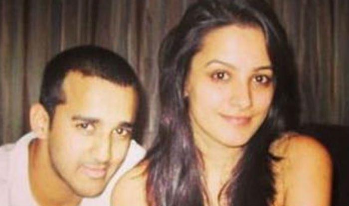 Anita Hassandani with hubbey Rohit Reddy
