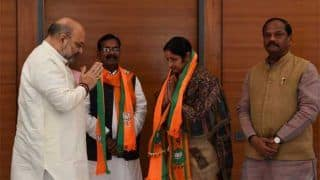 जिस राज्य की जेल में बंद हैं लालू यादव वहीं डूबी पार्टी, राजद नेता अन्नपूर्णा देवी बीजेपी में गईं